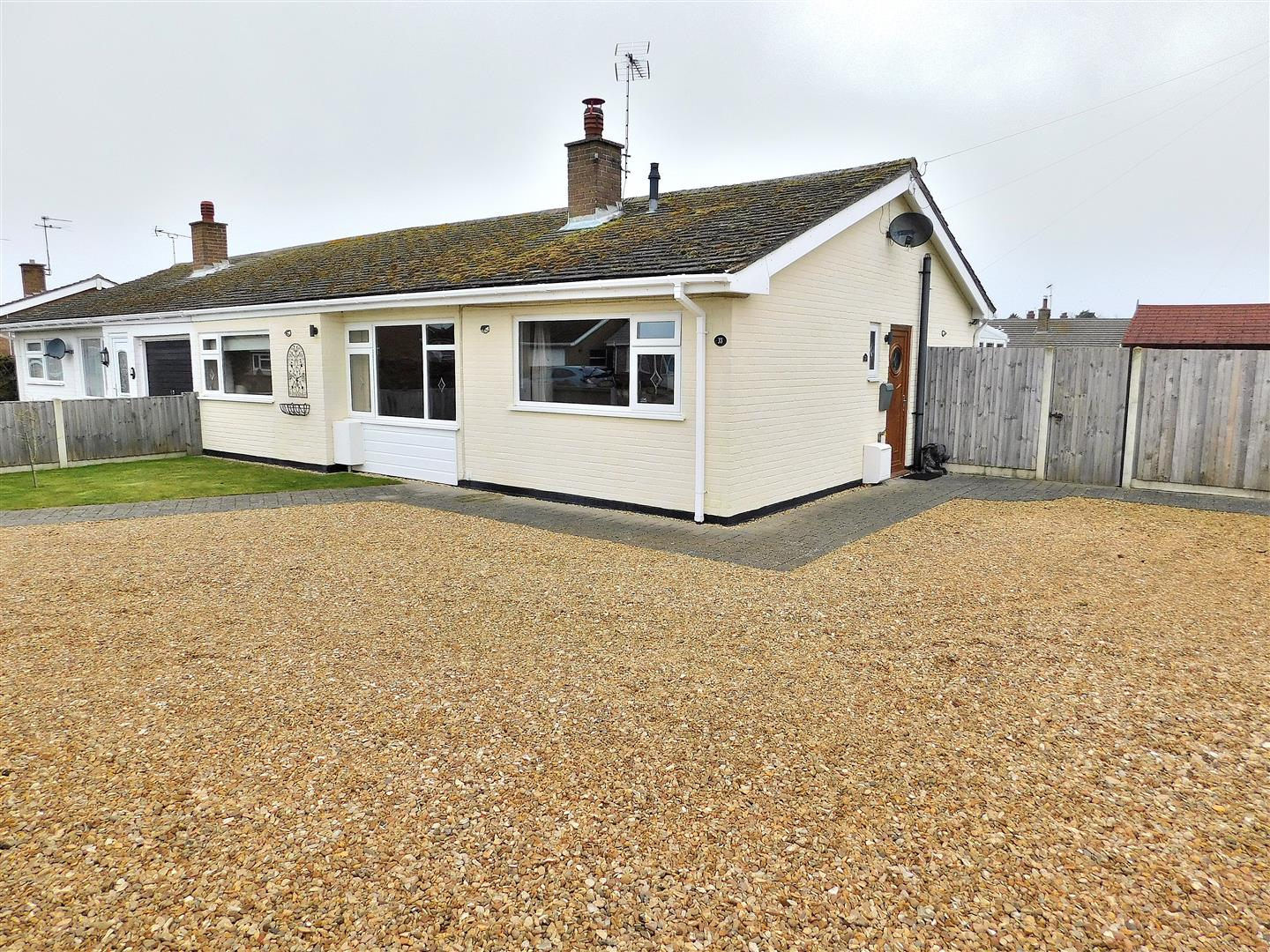 3 bed semi-detached bungalow for sale in King's Lynn, PE31 7BW, PE31