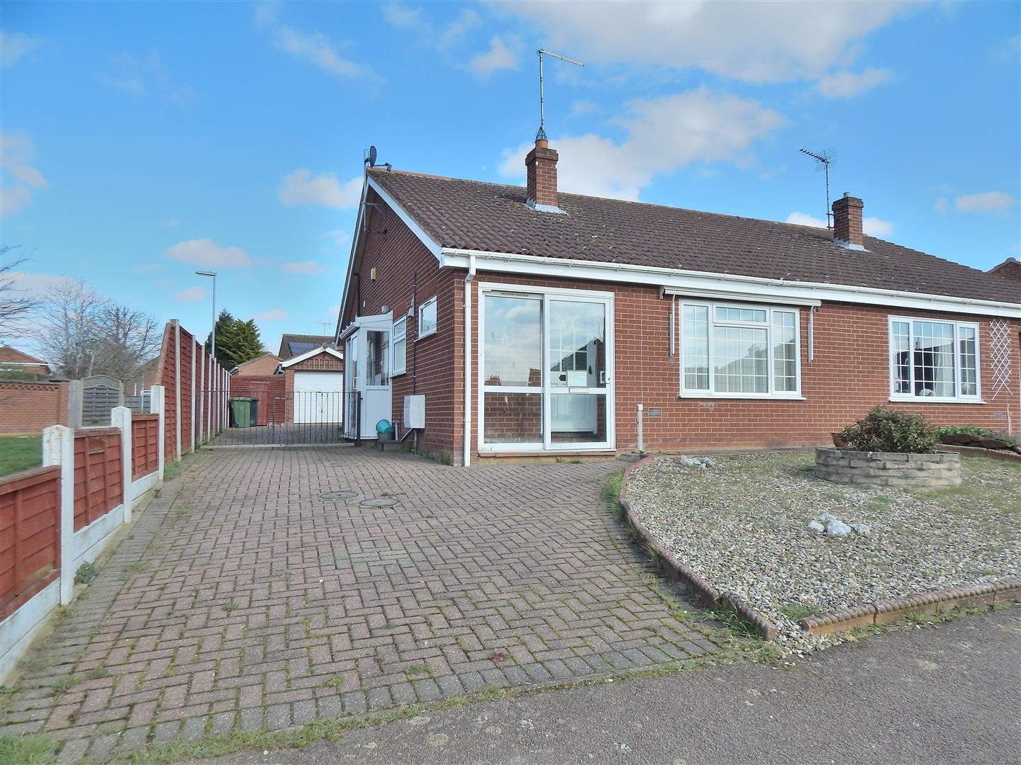 2 bed semi-detached bungalow for sale in Mountbatten Road, King's Lynn, PE31