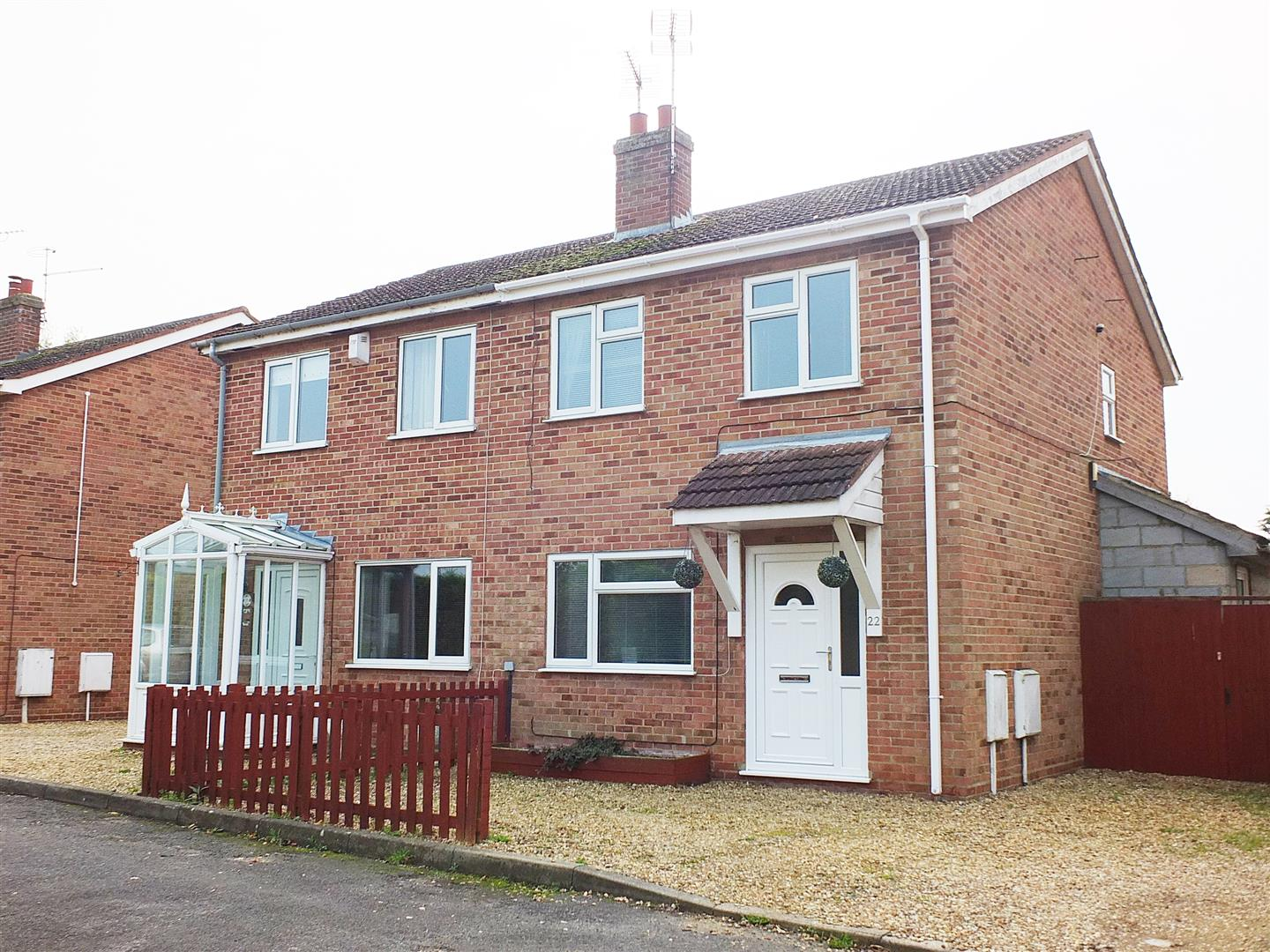 3 bed semi-detached house for sale in Sutton Bridge Spalding, PE12 9TY, PE12