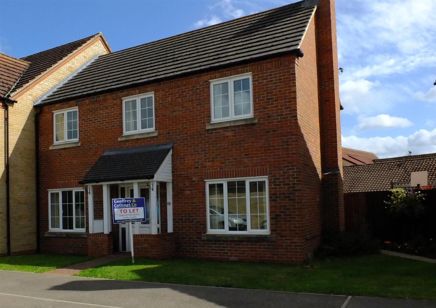 4 bed semi-detached house to rent in Sutton Bridge Spalding, PE12 9SW  - Property Image 1
