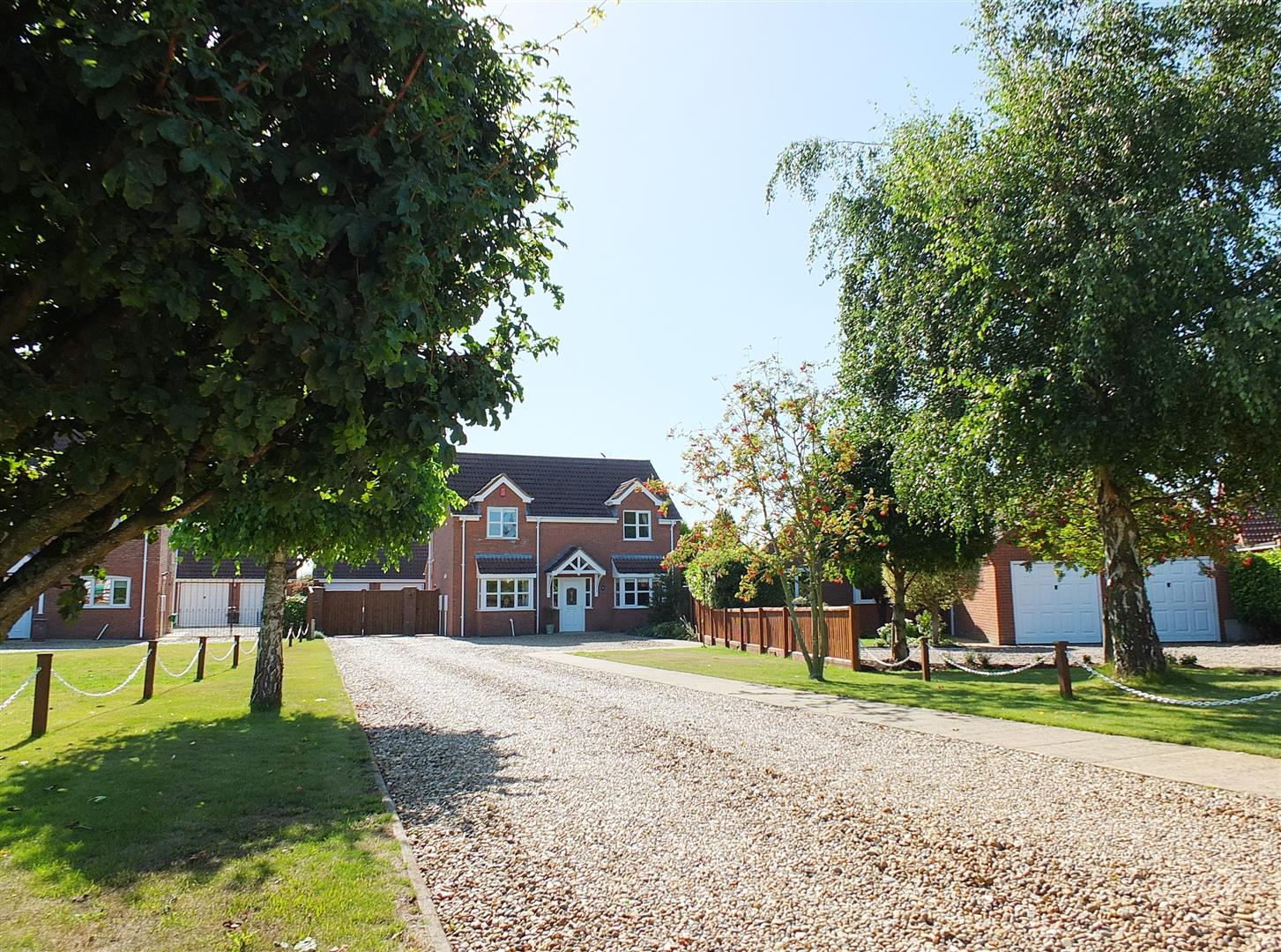 4 bed detached house for sale in Lutton Spalding, PE12 9HP, PE12