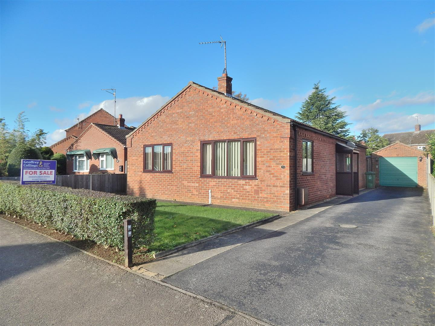 3 bed detached bungalow for sale in King's Lynn, PE31 6YE - Property Image 1