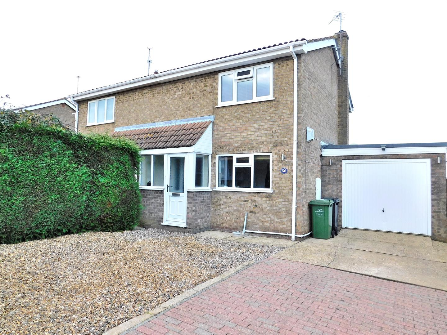 2 bed semi-detached house for sale in King's Lynn, PE34 4BB, PE34