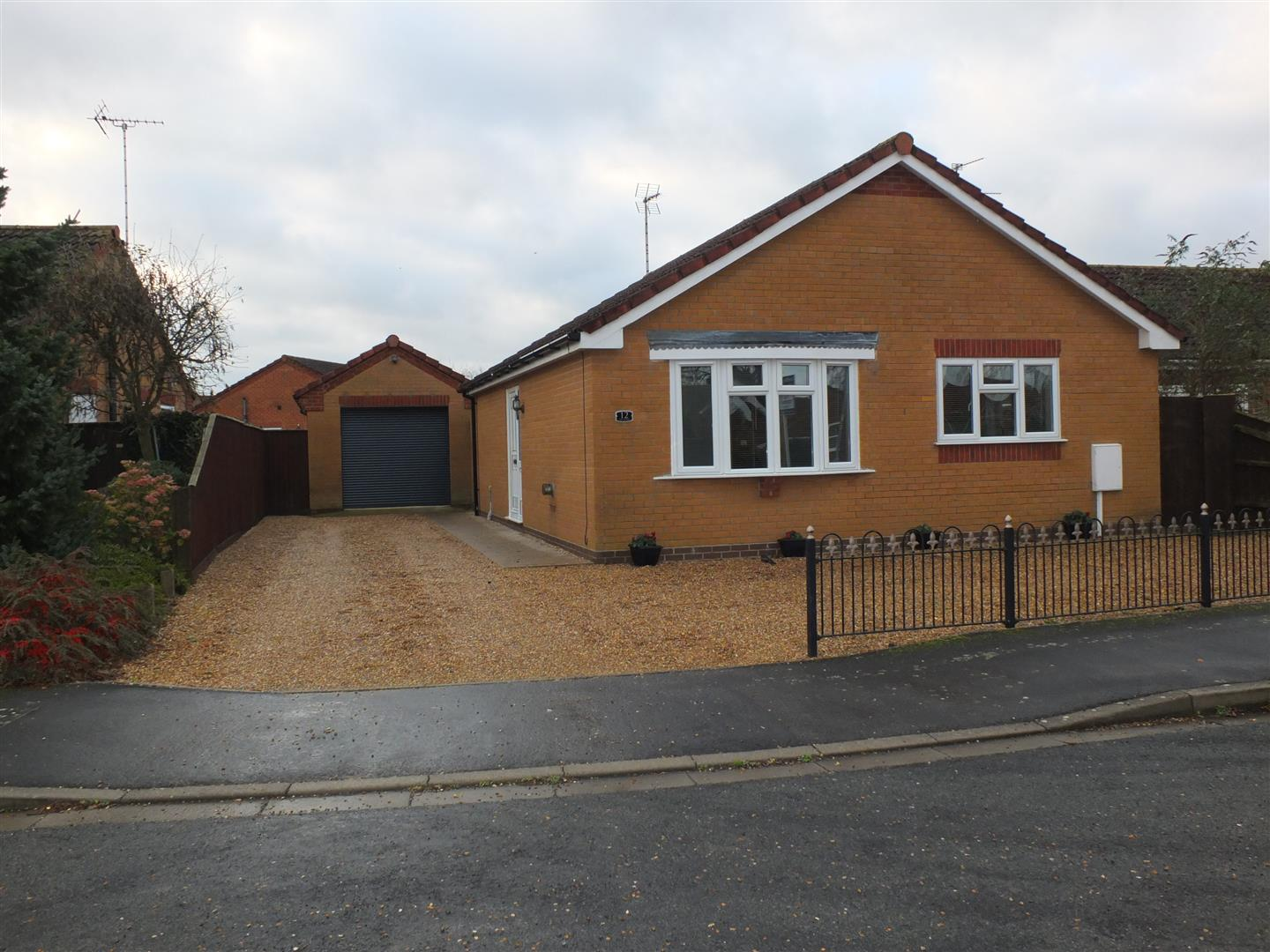 2 bed detached bungalow to rent in Long Sutton Spalding, PE12 9FA  - Property Image 1