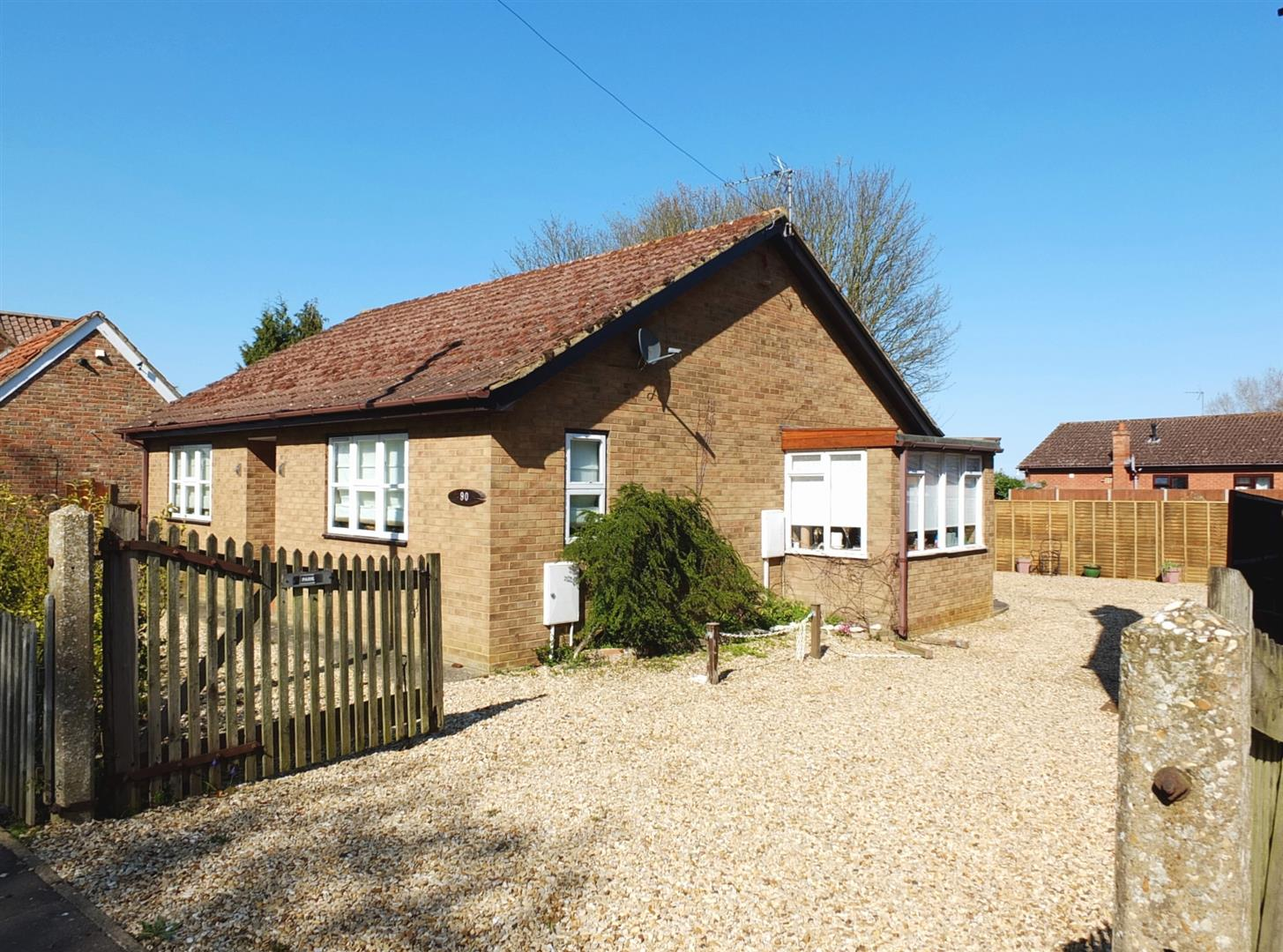2 bed detached bungalow for sale in Roman Bank, Long Sutton Spalding  - Property Image 1