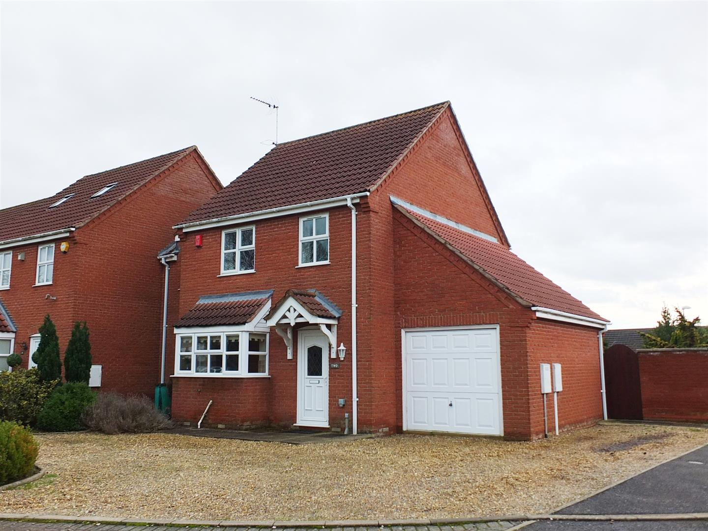 3 bed link detached house for sale in Lutton Spalding, PE12 9PP, PE12