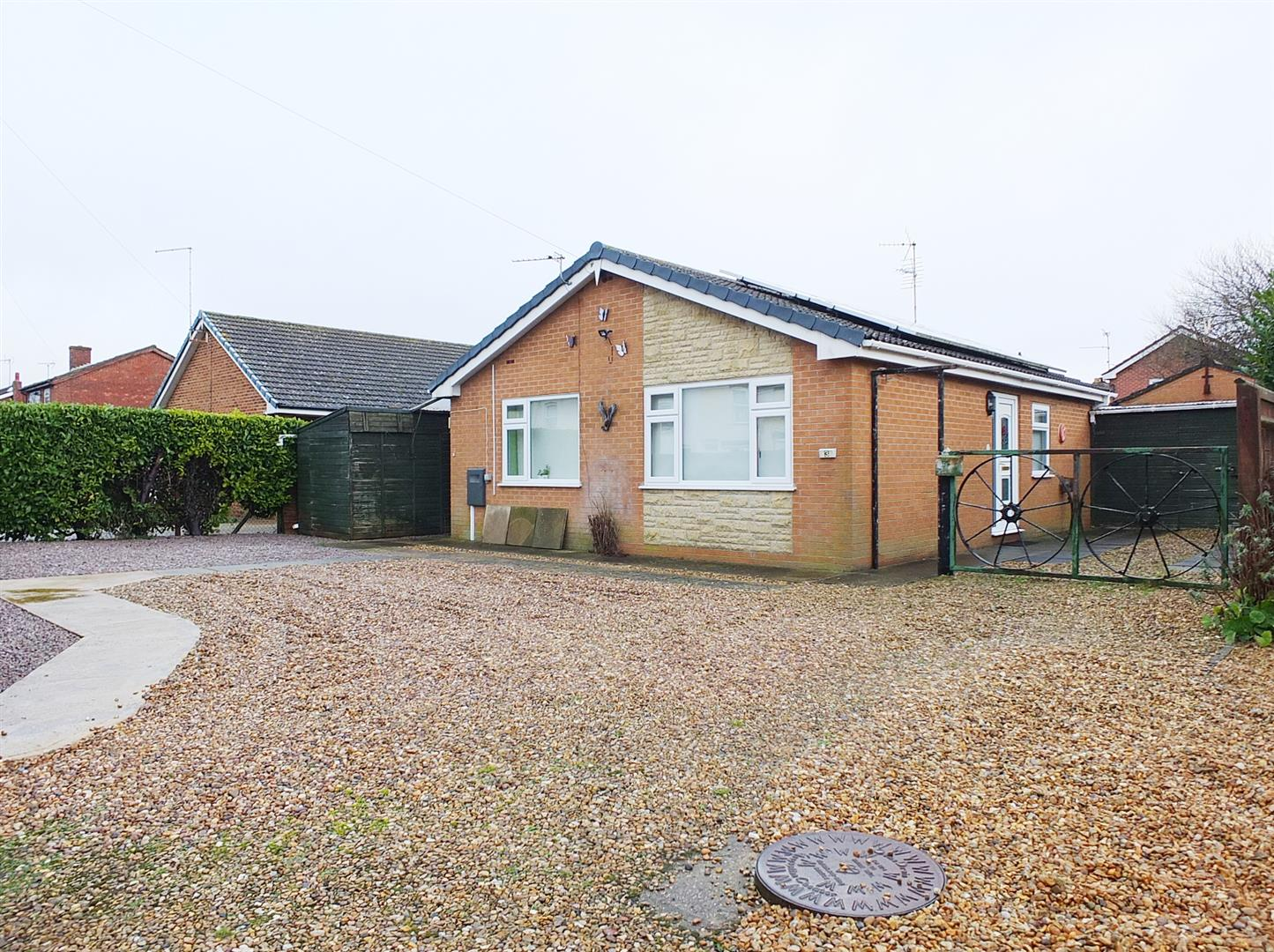 2 bed detached bungalow for sale in Sutton Bridge Spalding, PE12 9ST, PE12