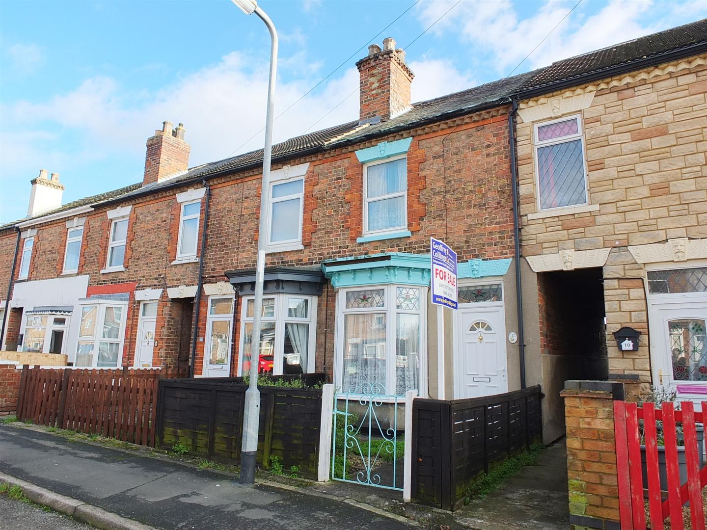 2 bed terraced house for sale in Sutton Bridge Spalding, PE12 9SX, PE12
