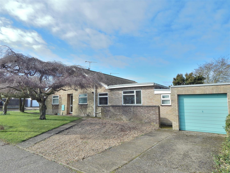 2 bed semi-detached bungalow for sale in King's Lynn, PE31 7SL, PE31