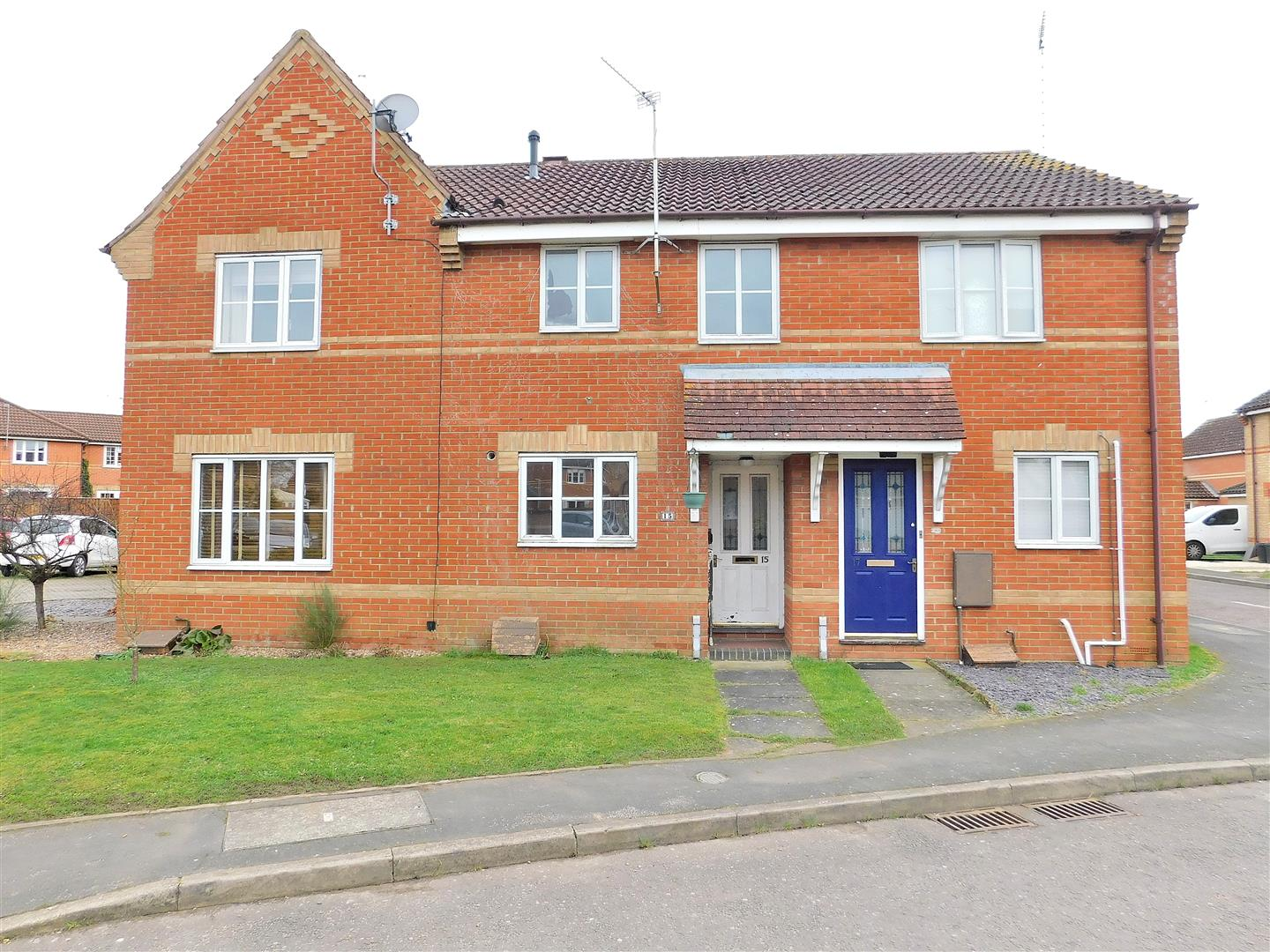 2 bed terraced house for sale in Weedon Way, King's Lynn, PE30