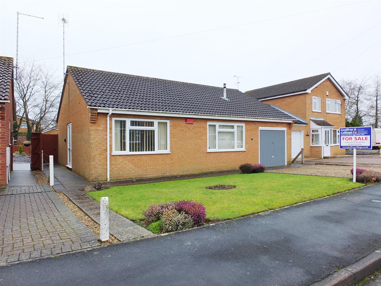 2 bed detached bungalow for sale in Church Green, Long Sutton Spalding, PE12