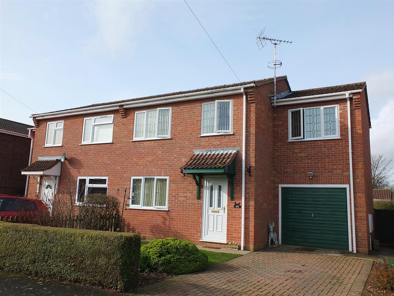 3 bed semi-detached house for sale in Long Sutton Spalding, PE12 9LZ, PE12