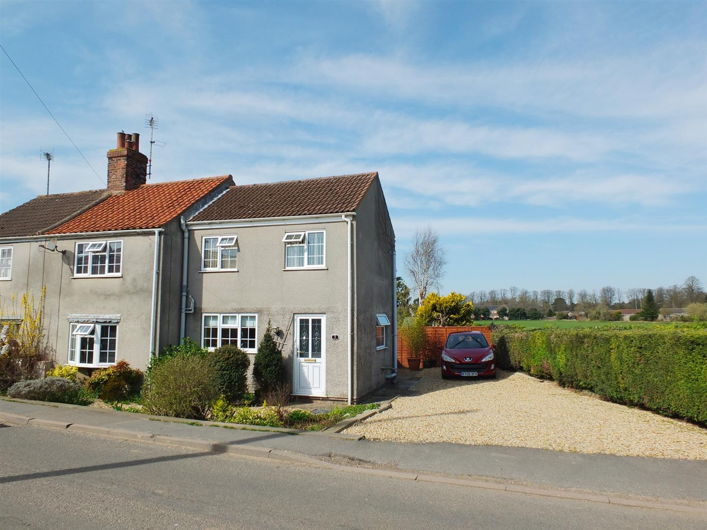 3 bed semi-detached house for sale in Roman Bank, Long Sutton Spalding, PE12