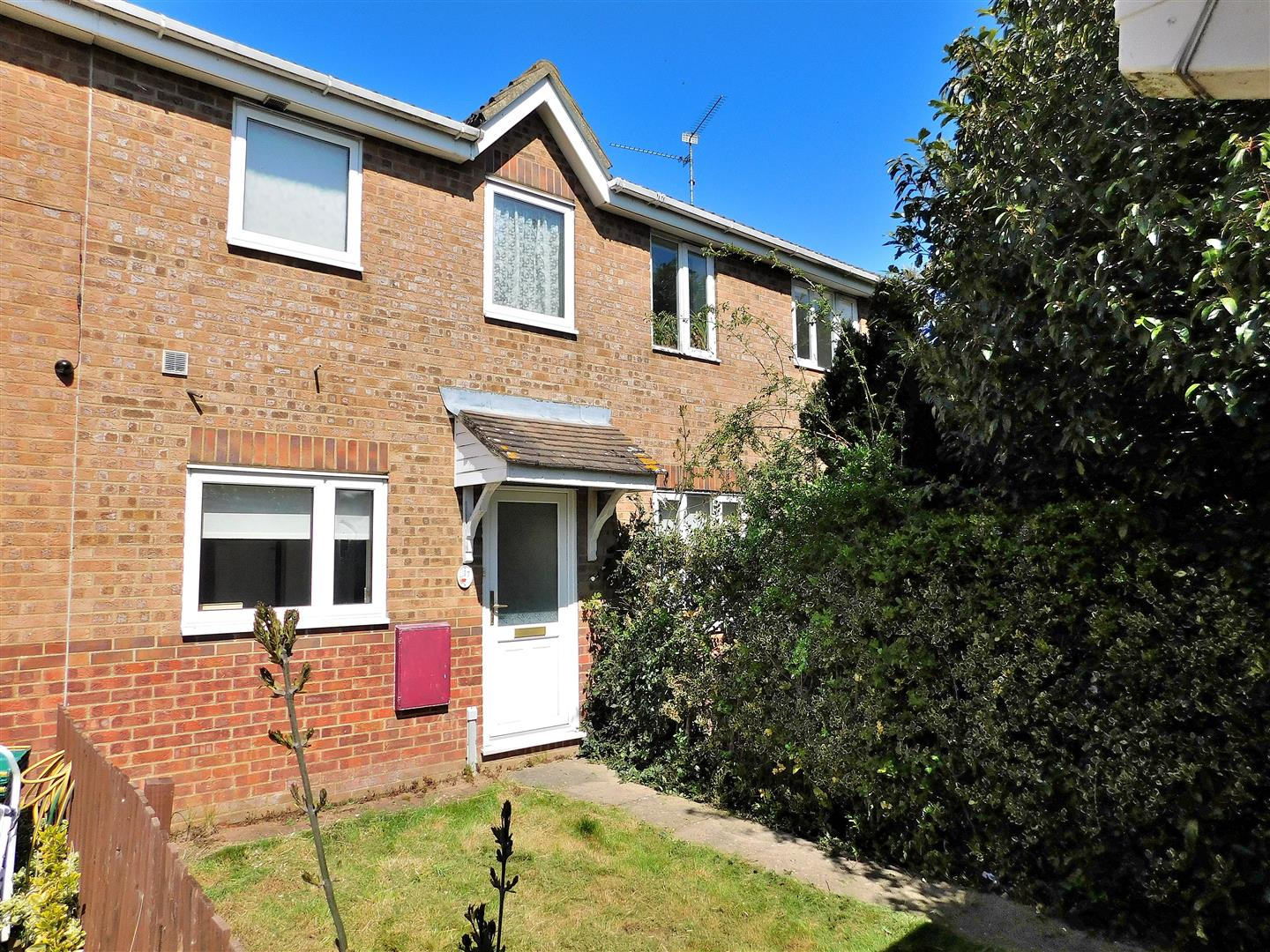 2 bed terraced house for sale in Punsfer Way, King's Lynn, PE34