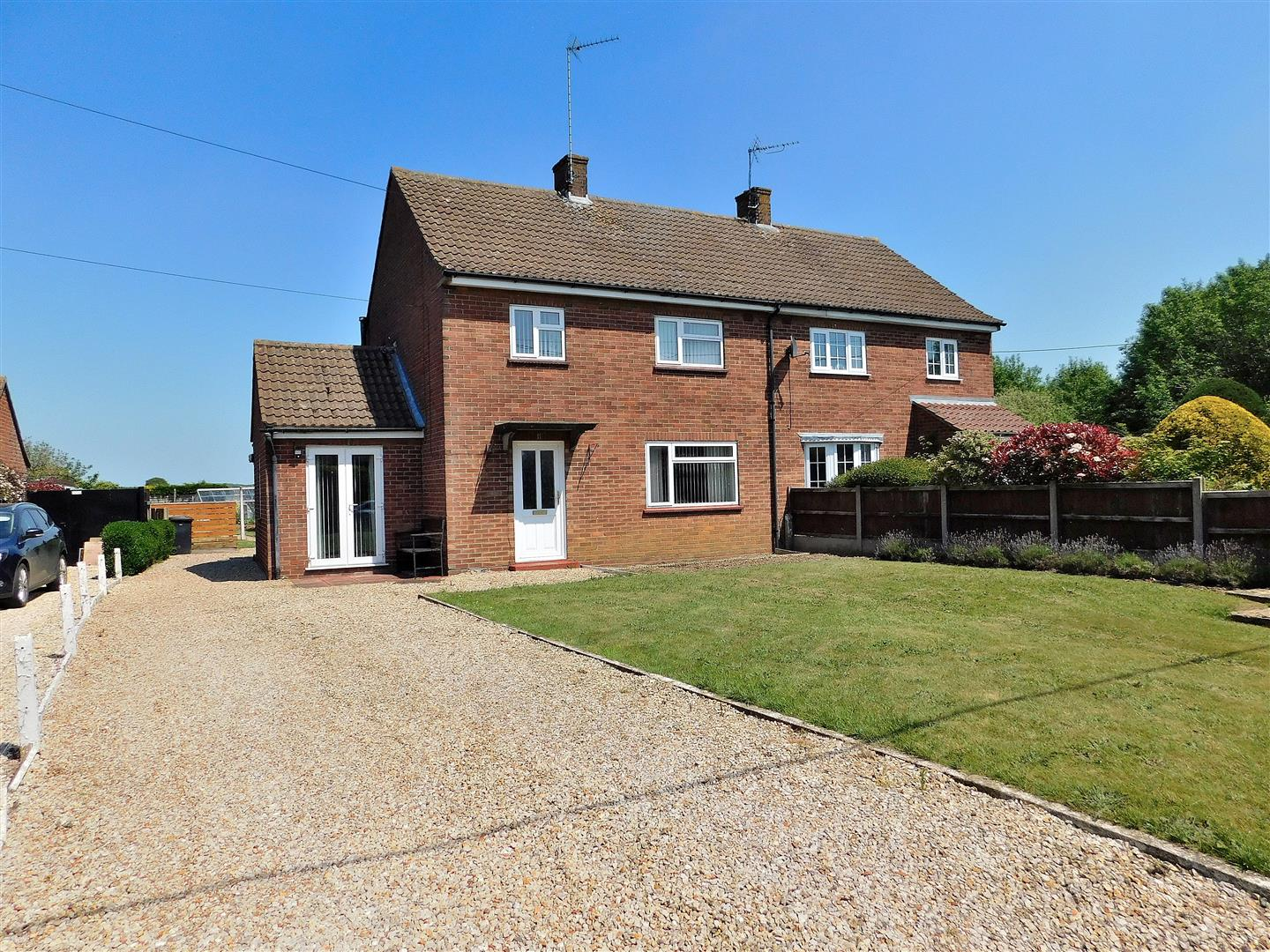 3 bed semi-detached house for sale in Stocks Close, King's Lynn, PE31