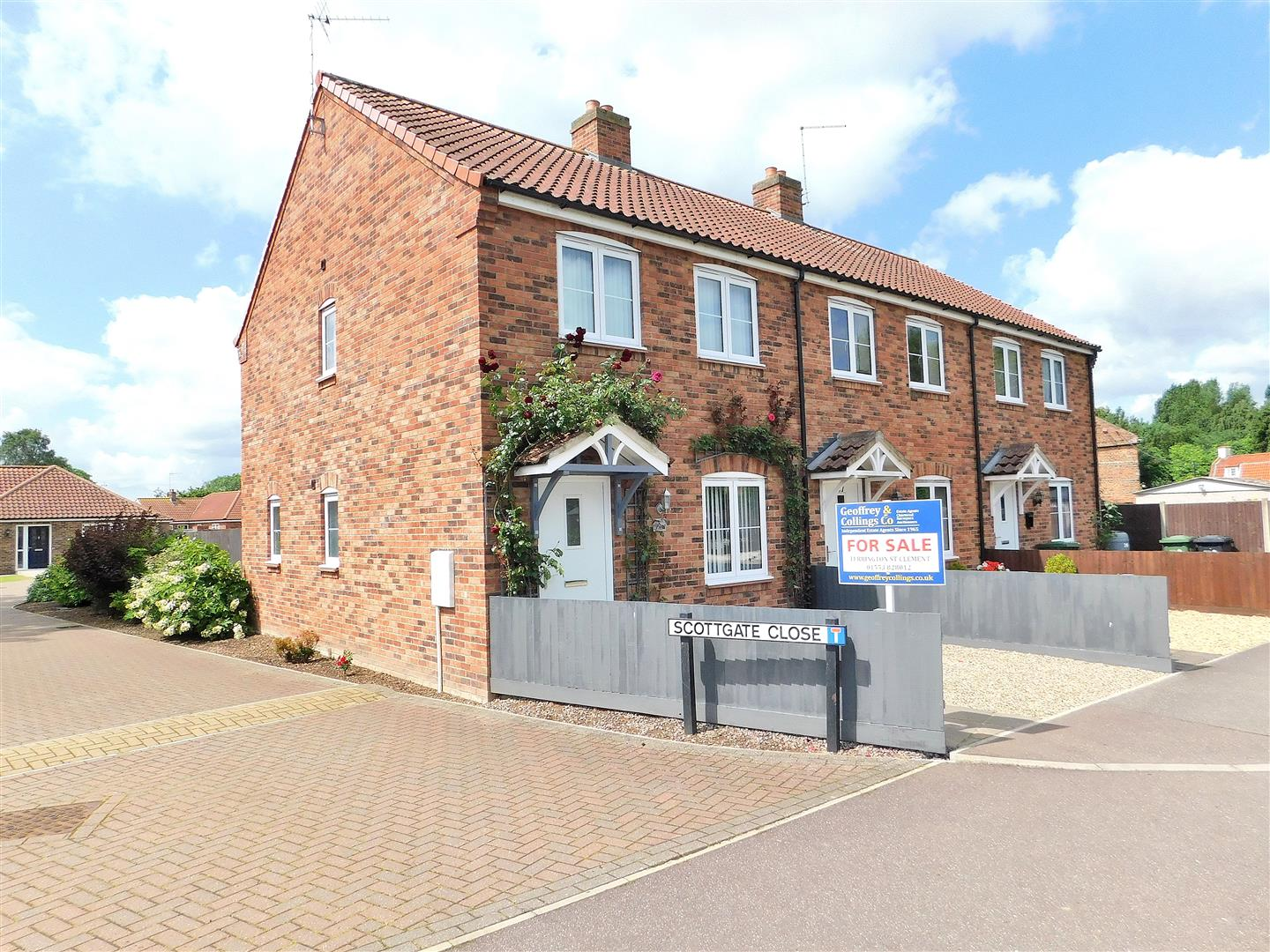 3 bed end of terrace house for sale in 85 Chapel Road, King's Lynn, PE34