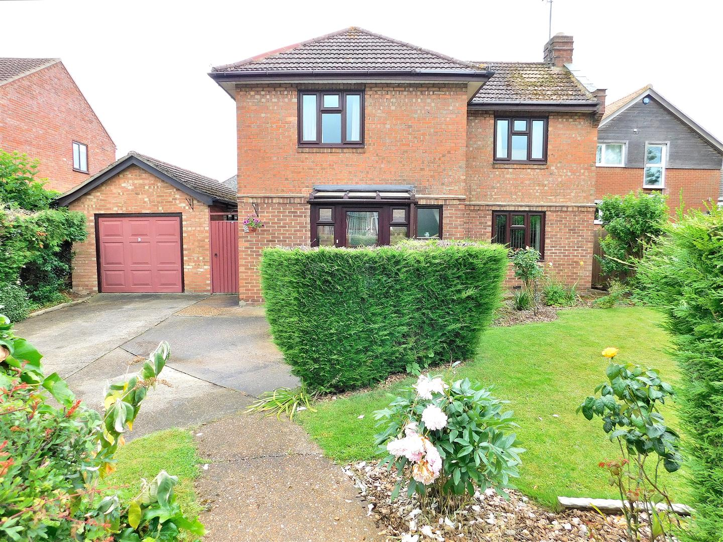 3 bed detached house for sale in Foxs Lane, King's Lynn, PE34