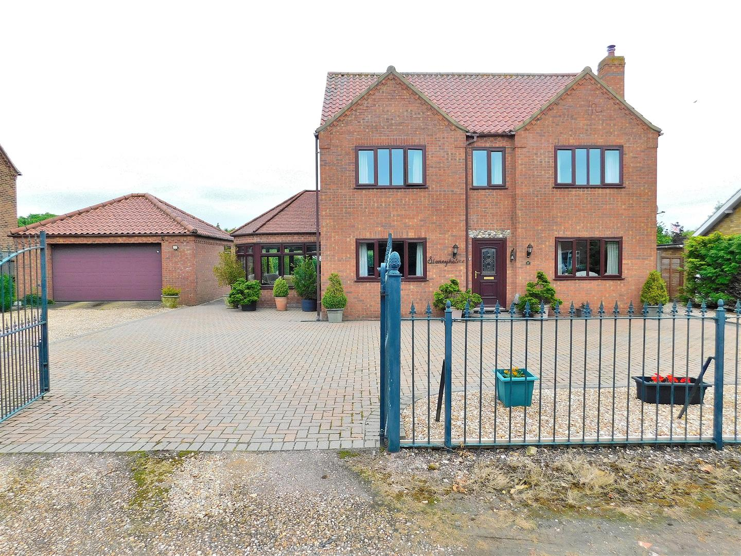 3 bed detached house for sale in Popes Lane, King's Lynn, PE34