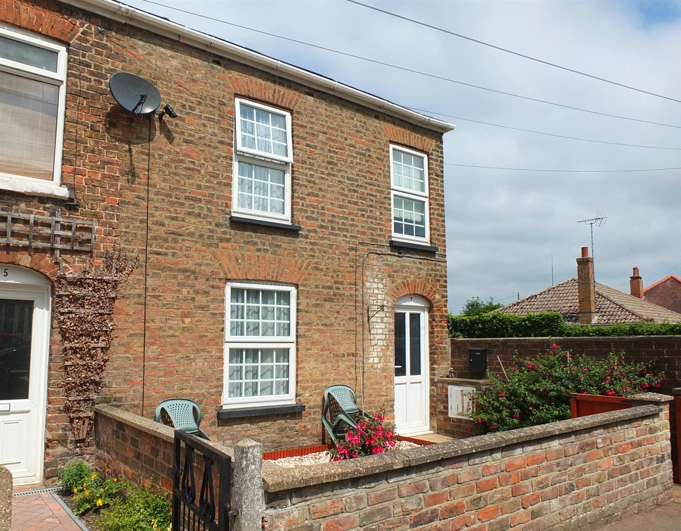 2 bed end of terrace house for sale in Park Lane, Long Sutton Spalding, PE12