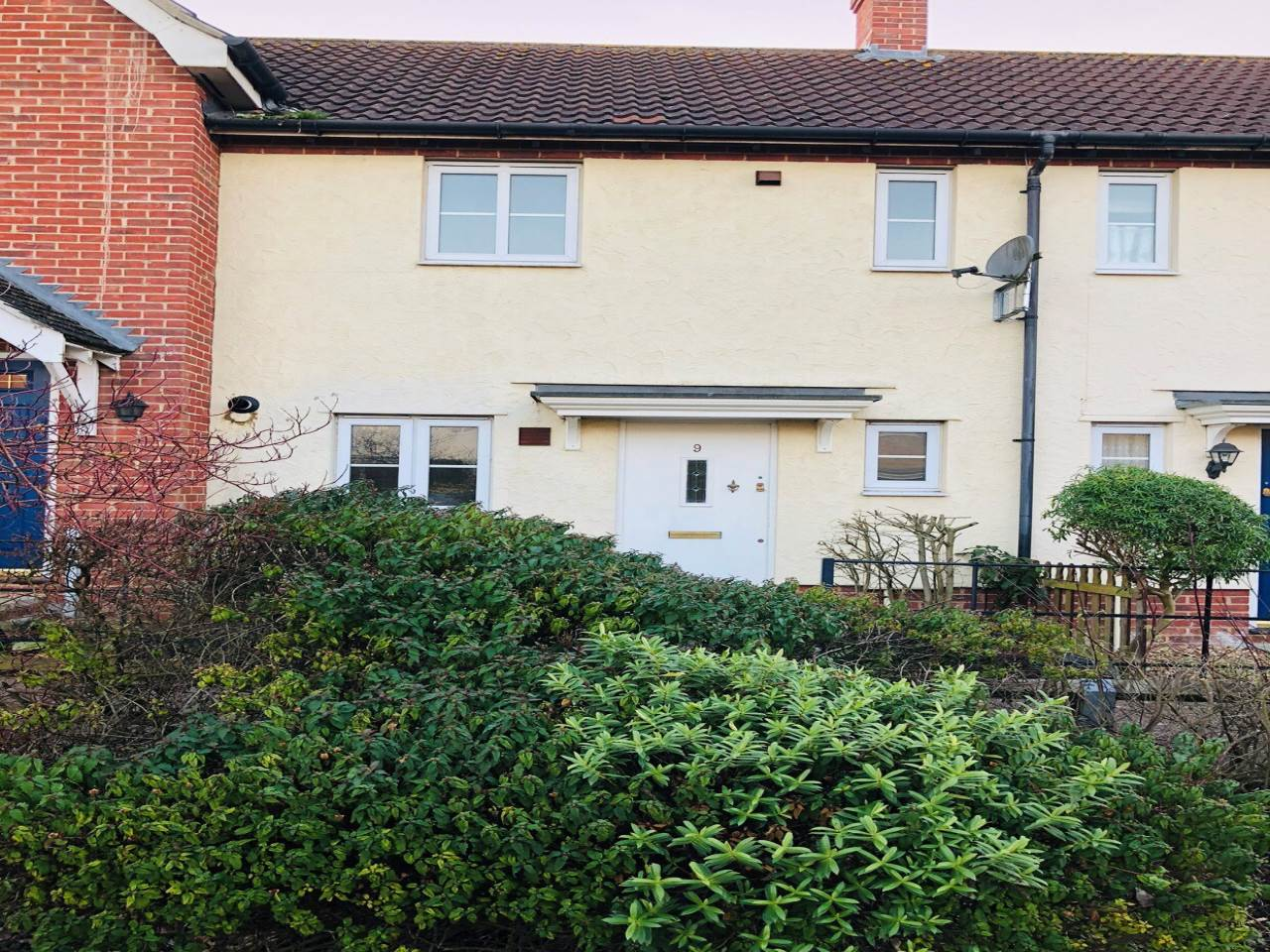 2 bed terraced-house to rent in Haverhill, CB9