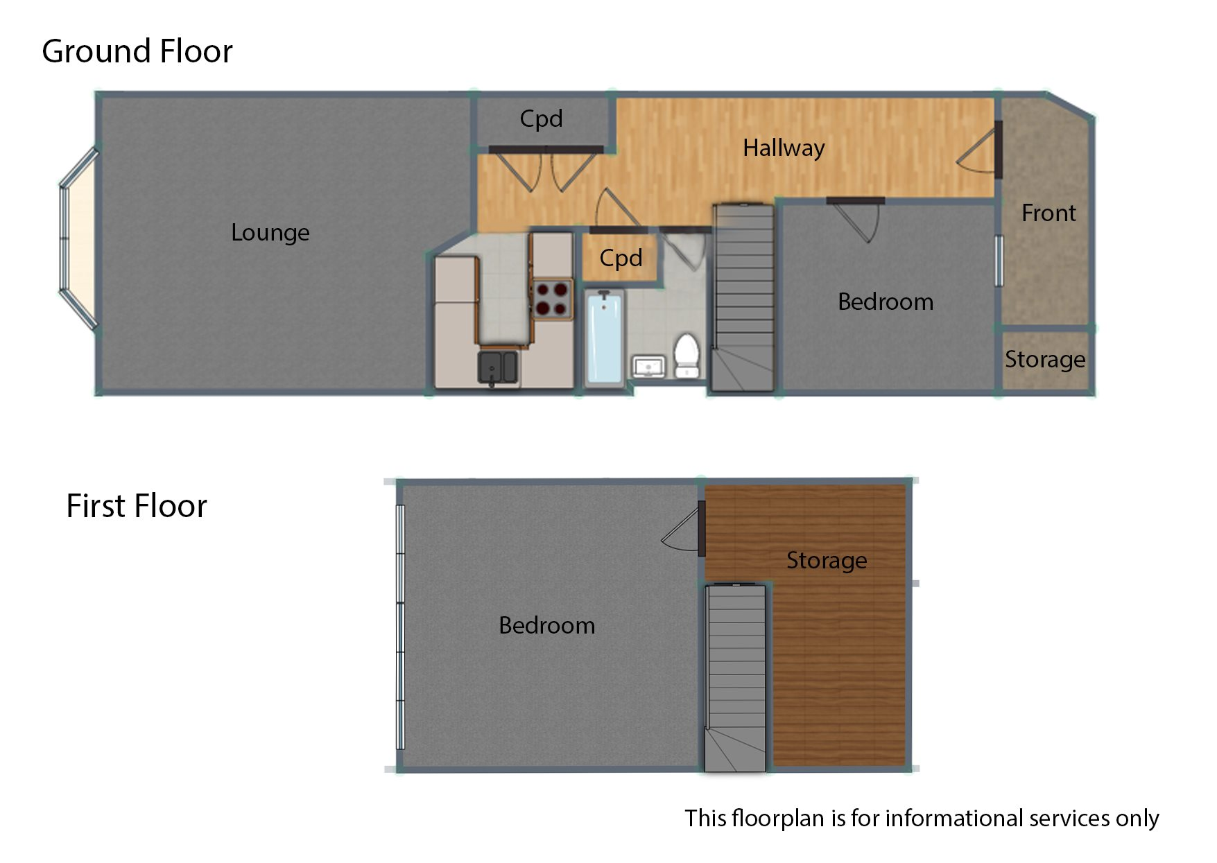 2 bed flat for sale in Orlando Drive, Basildon - Property Floorplan
