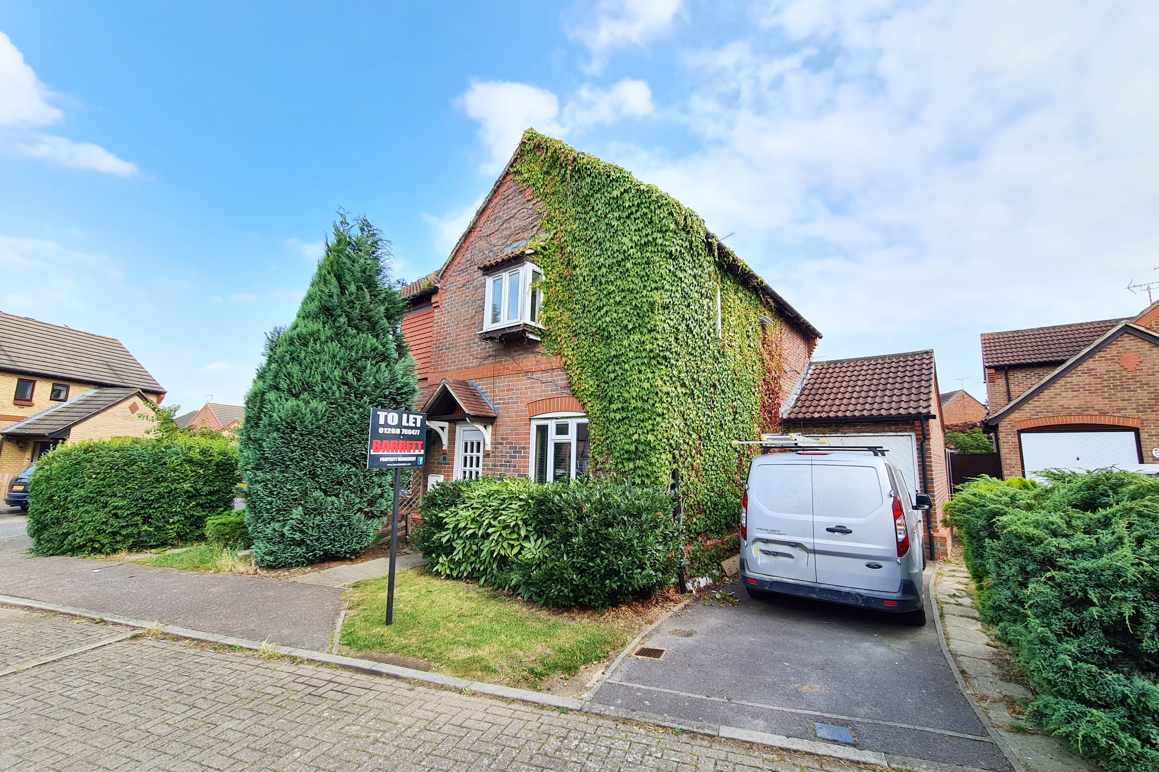 3 bed semi-detached house to rent in Langham Drive, Rayleigh - Property Image 1