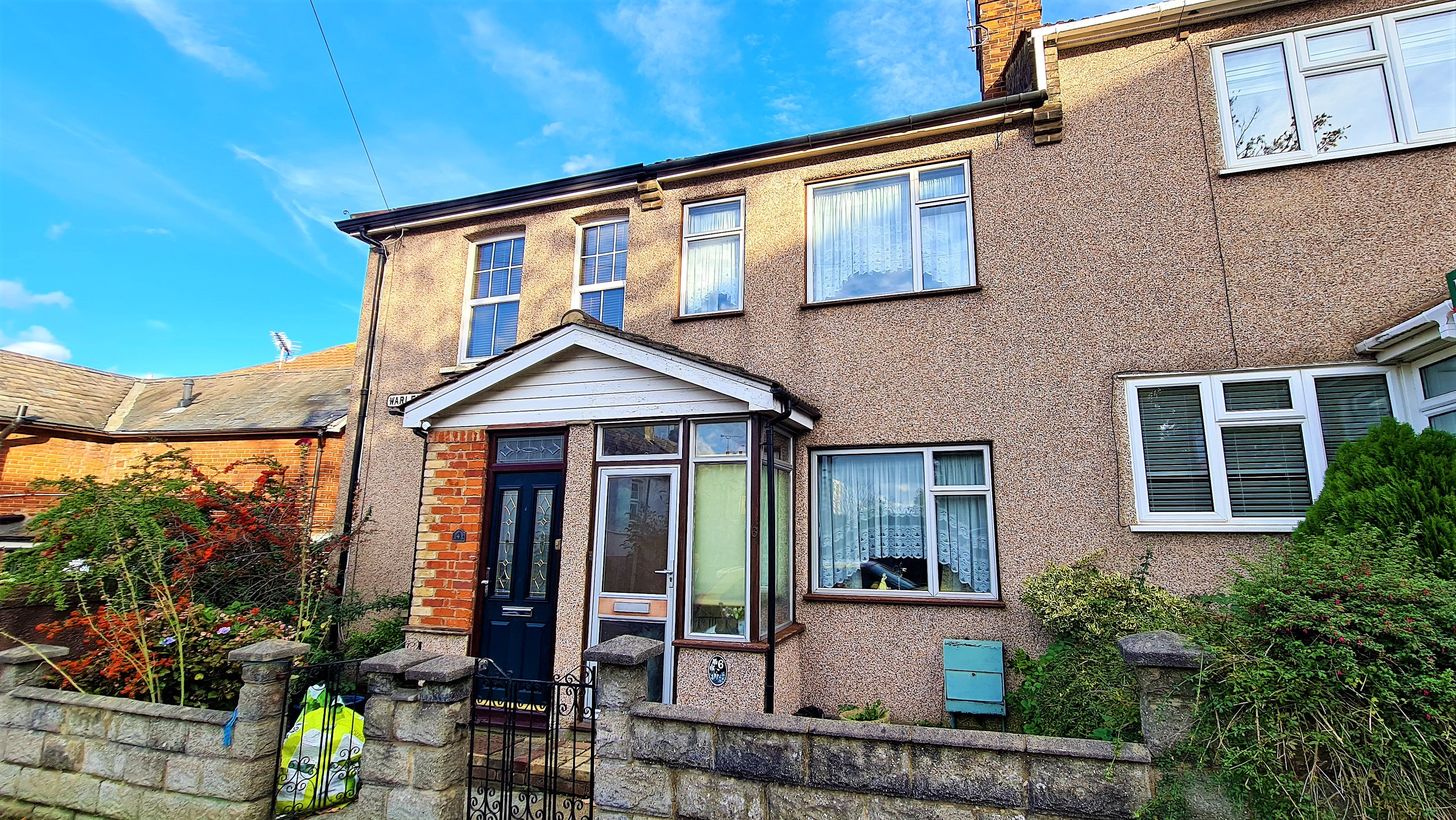 2 bed terraced house for sale in Warley Mount, Brentwood, CM14