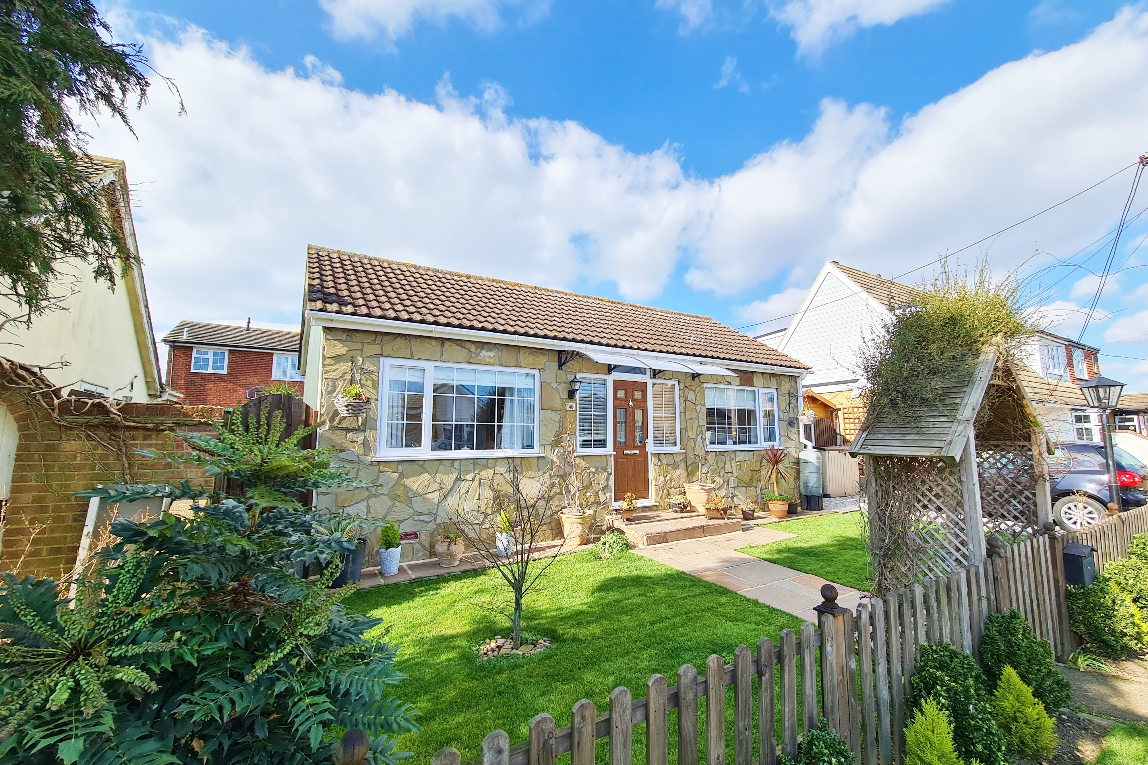2 bed bungalow for sale in Canvey Island, Essex  - Property Image 1