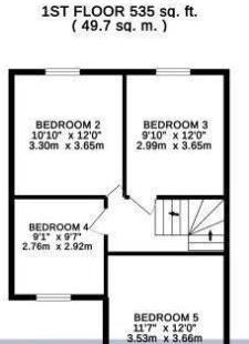 6 bed house for sale in Hanworth Road, Hounslow - Property Floorplan