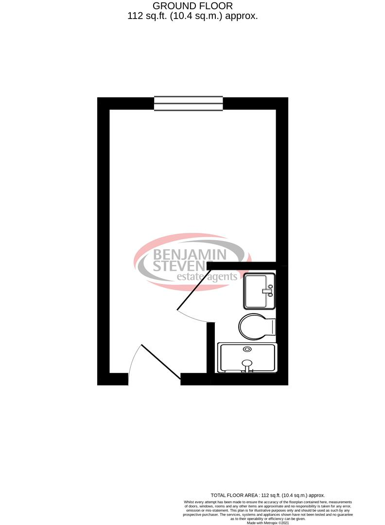 House share for sale in Park Street, Luton - Property Floorplan