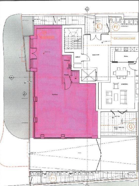 Retail property (high street) for sale in Brent Street, London - Property Floorplan