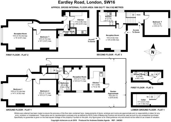 5 bed house for sale in Streatham - Property Floorplan