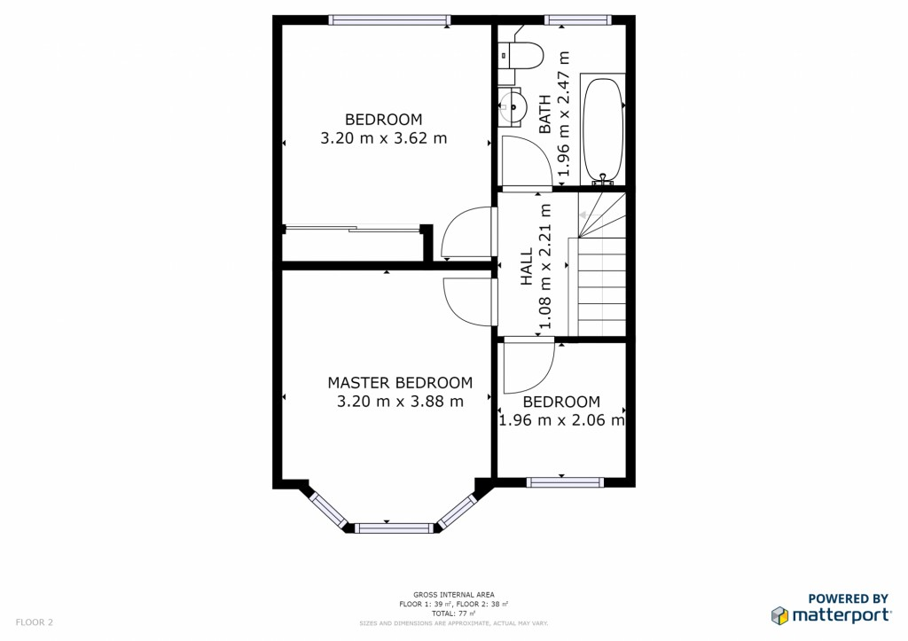 3 bed for sale in London - Property Floorplan