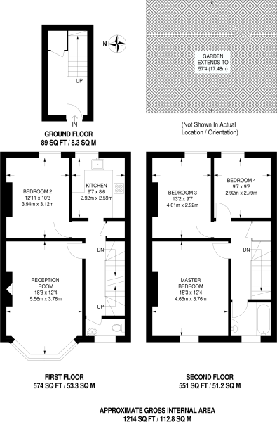 4 bed for sale in London - Property Floorplan