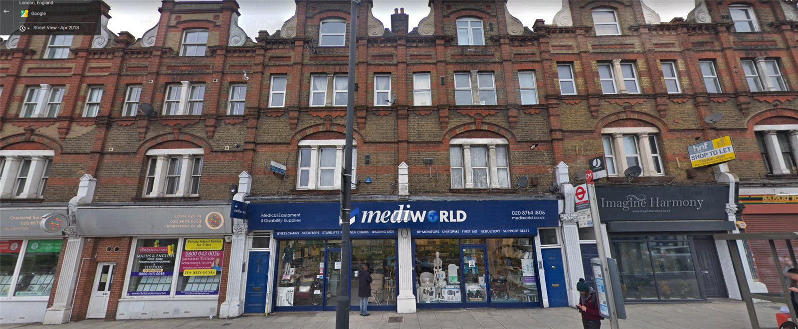 1 bed flat for sale in London 0