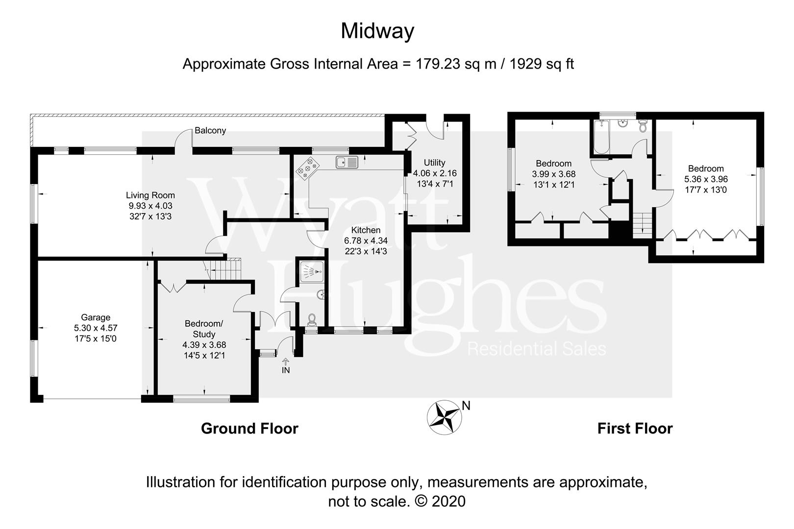 3 bed detached bungalow for sale in Maple Walk, Bexhill-On-Sea - Property Floorplan