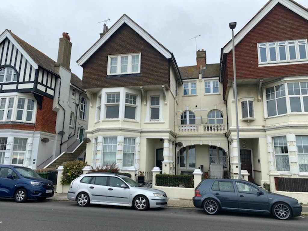 A spacious three bedroom first floor flat with balcony situtated on St Leonards seafront providing stunning views over Grosvenor Gardens towards the sea. This stunning apartment is in the process of being completely refurbished throughout and is made up of having two double bedrooms, one with ensuite, a single bedroom, spacious living room overlooking the front, a separate kitchen and balcony. The refurbishments are in the process of being completed and this lovely home is due to be available from mid October onwards.Terms: Holding deposit (part of first month's rent): £290.. Rent: £1,295 Deposit: £1,295 Minimum annual income: £39,000.00