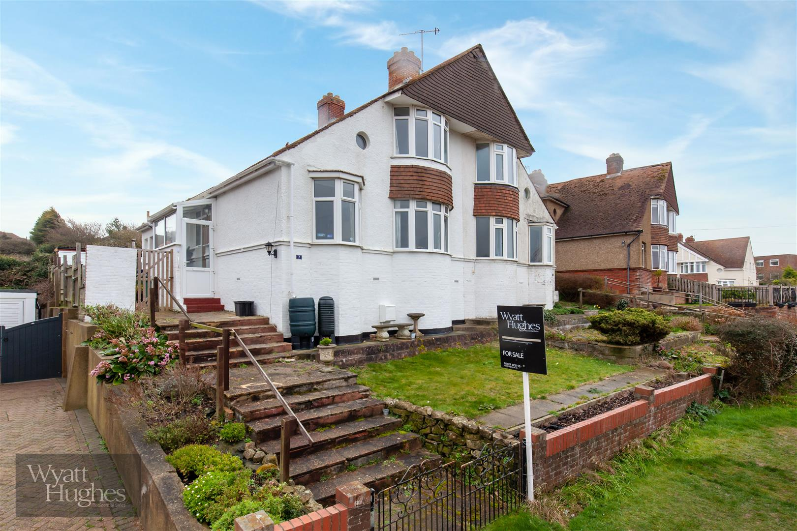 3 bed semi-detached-house for sale in Welbeck Avenue, St. Leonards-On-Sea - Property Image 1