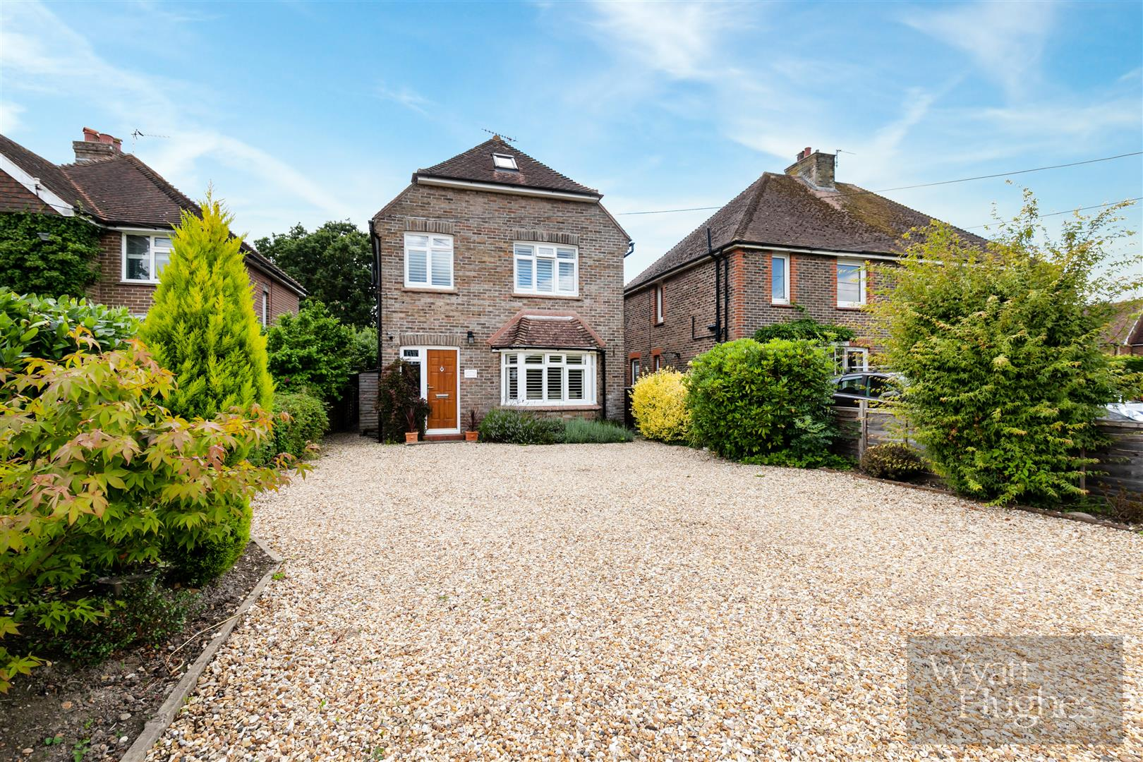 3 bed detached-house for sale in The Green, Ninfield, TN33