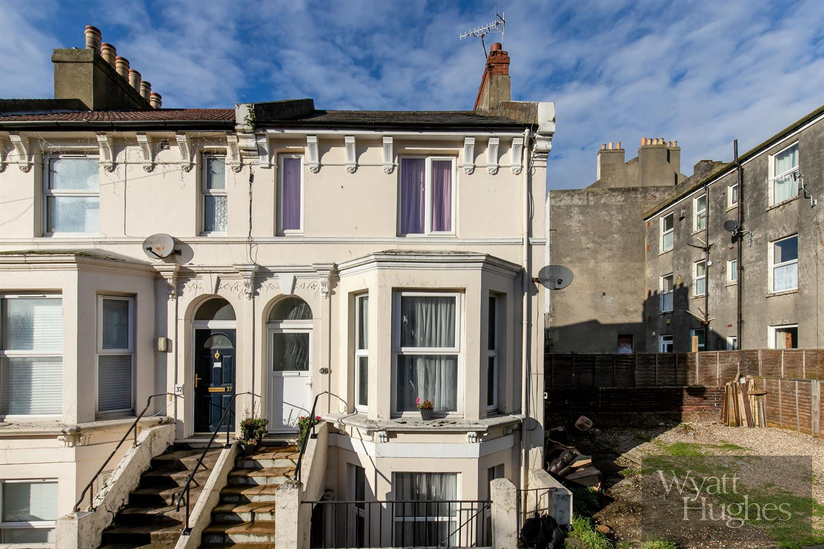 3 bed end-of-terrace-house for sale in St. Marys Road, Hastings, TN34