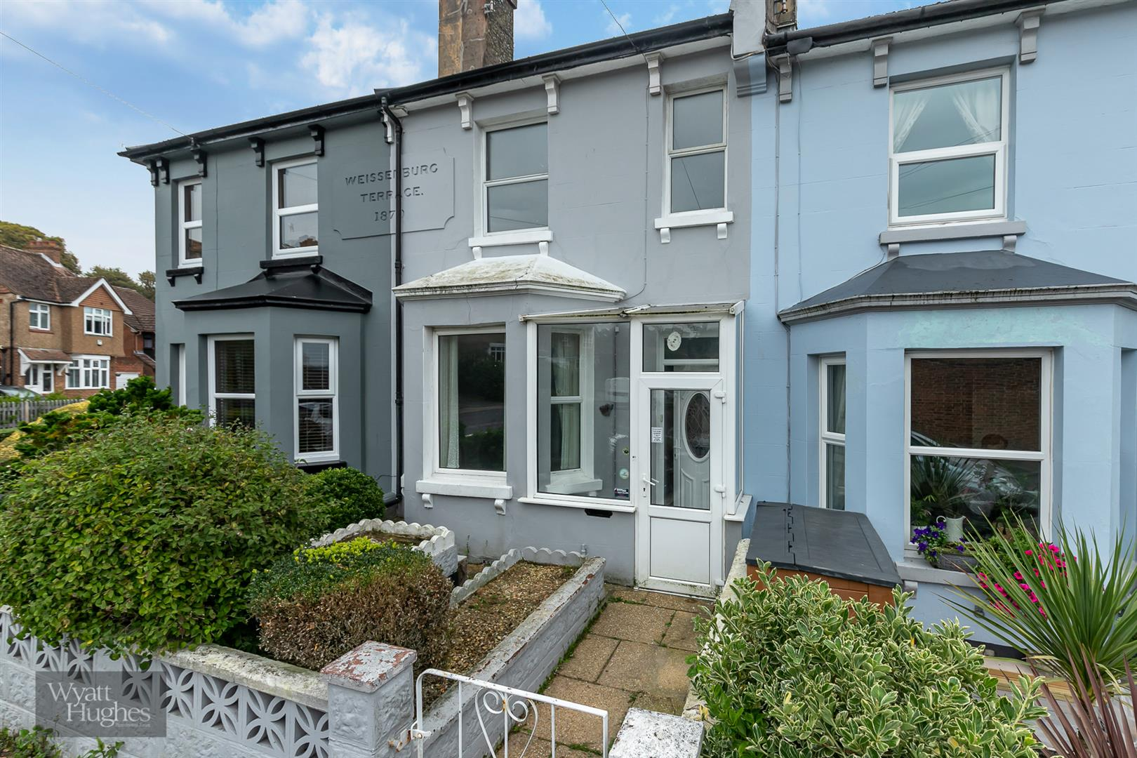 2 bed terraced house for sale in Wilmington Road, Hastings, TN34