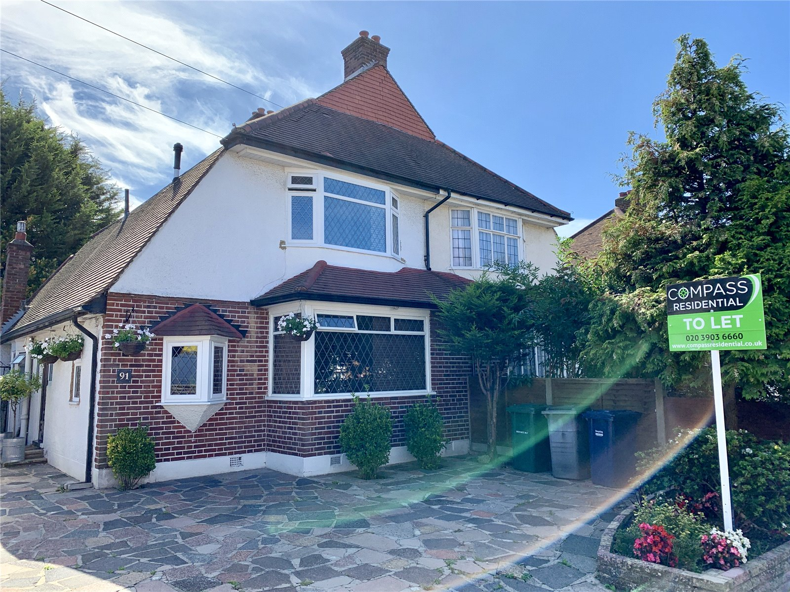3 bed  to rent in Chase Way, Southgate, N14