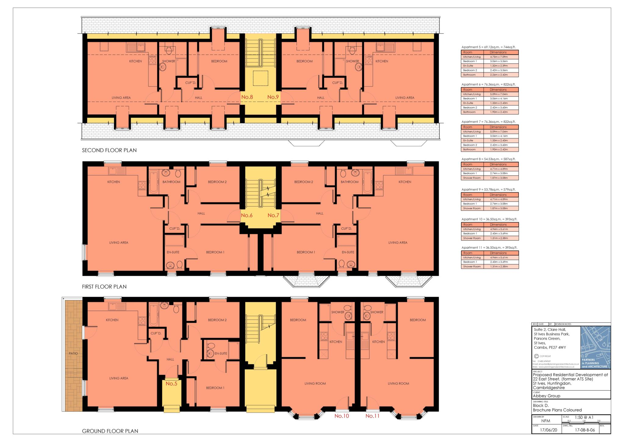 1 bed apartment to rent in East Street, St Ives - Property Floorplan