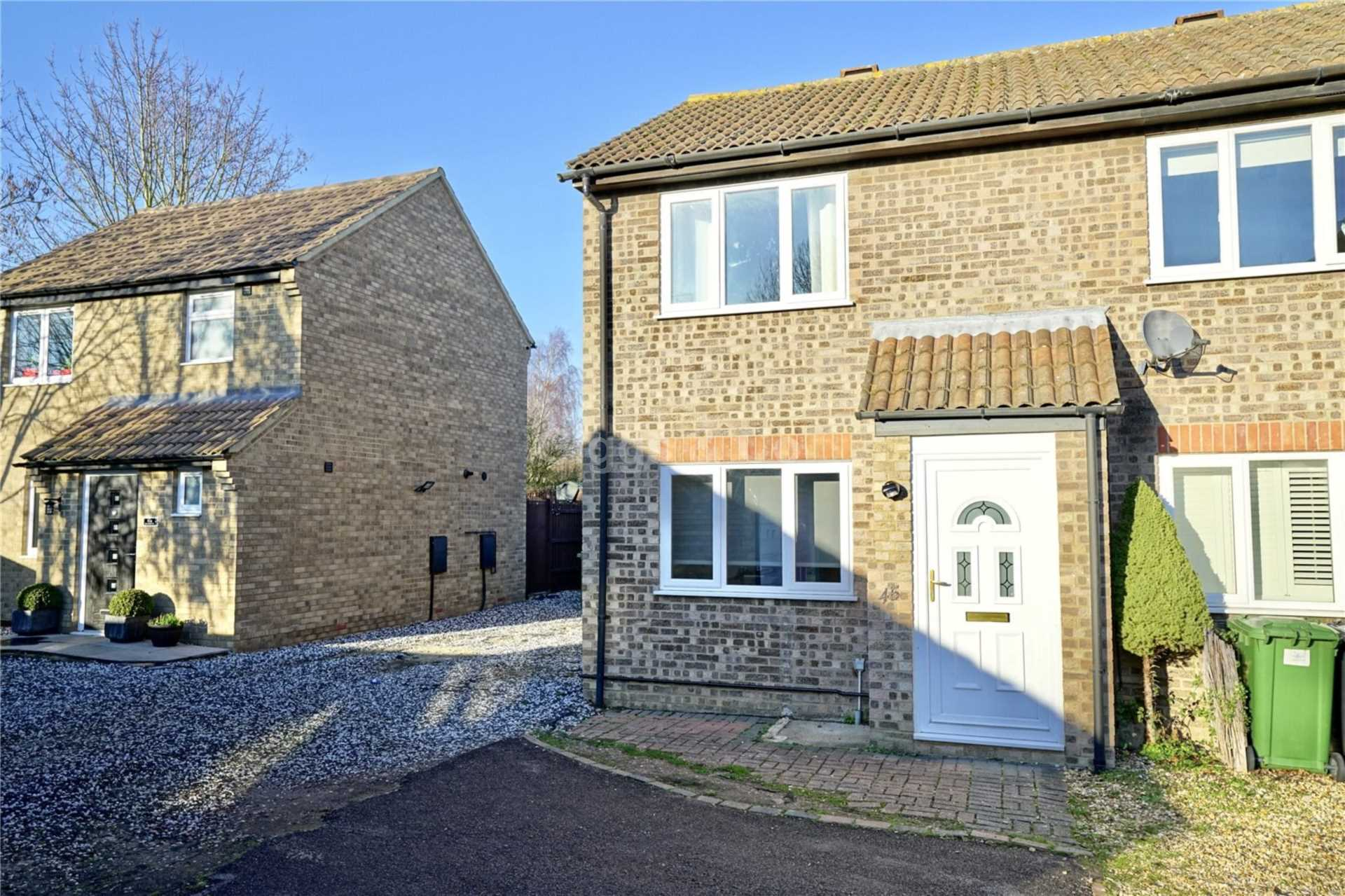 2 bed semi-detached house to rent in Cunningham Way, Eaton Socon, PE19