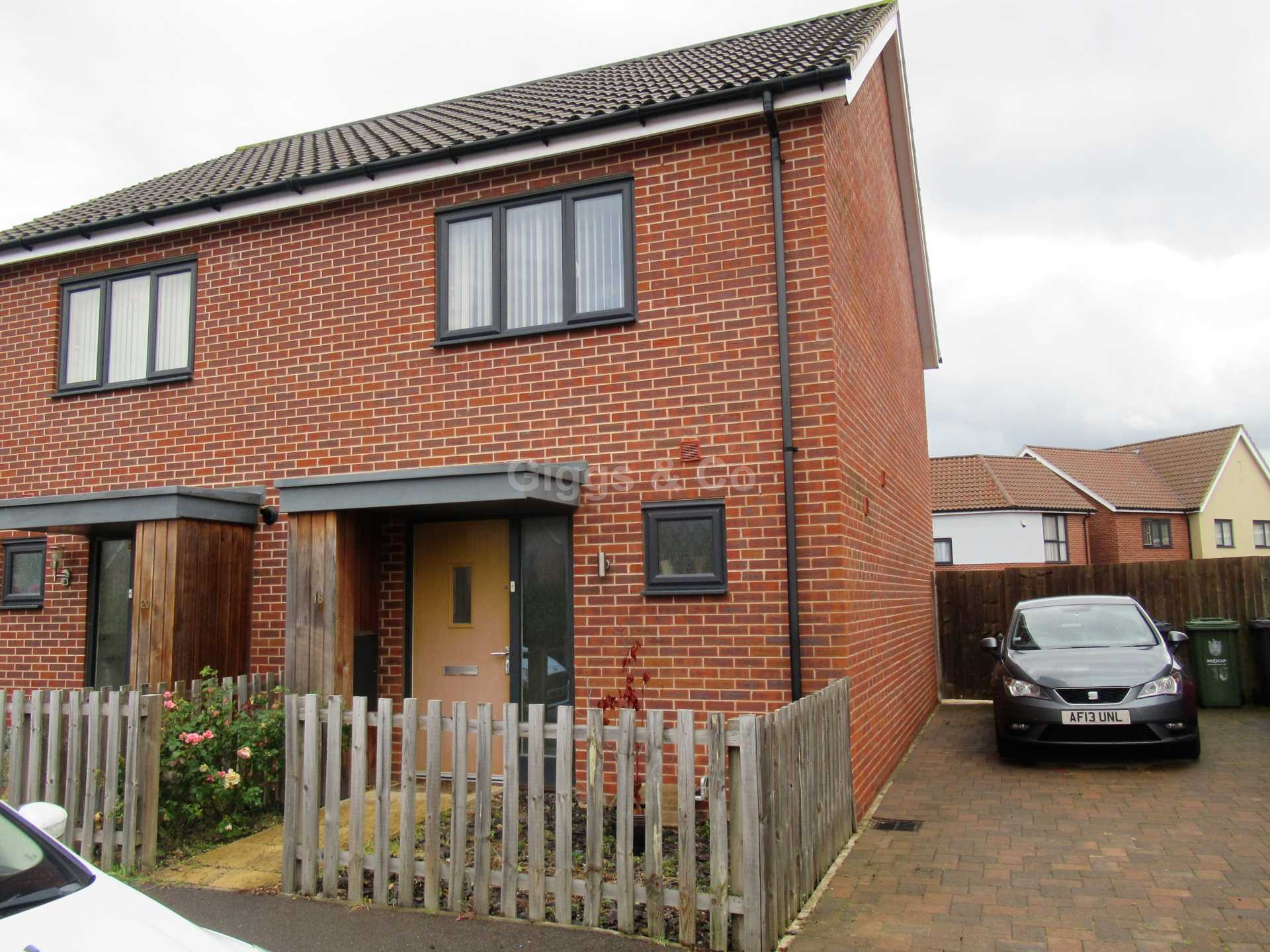 2 bed house to rent in Otter Road, Upper Cambourne, Cambridge, CB23