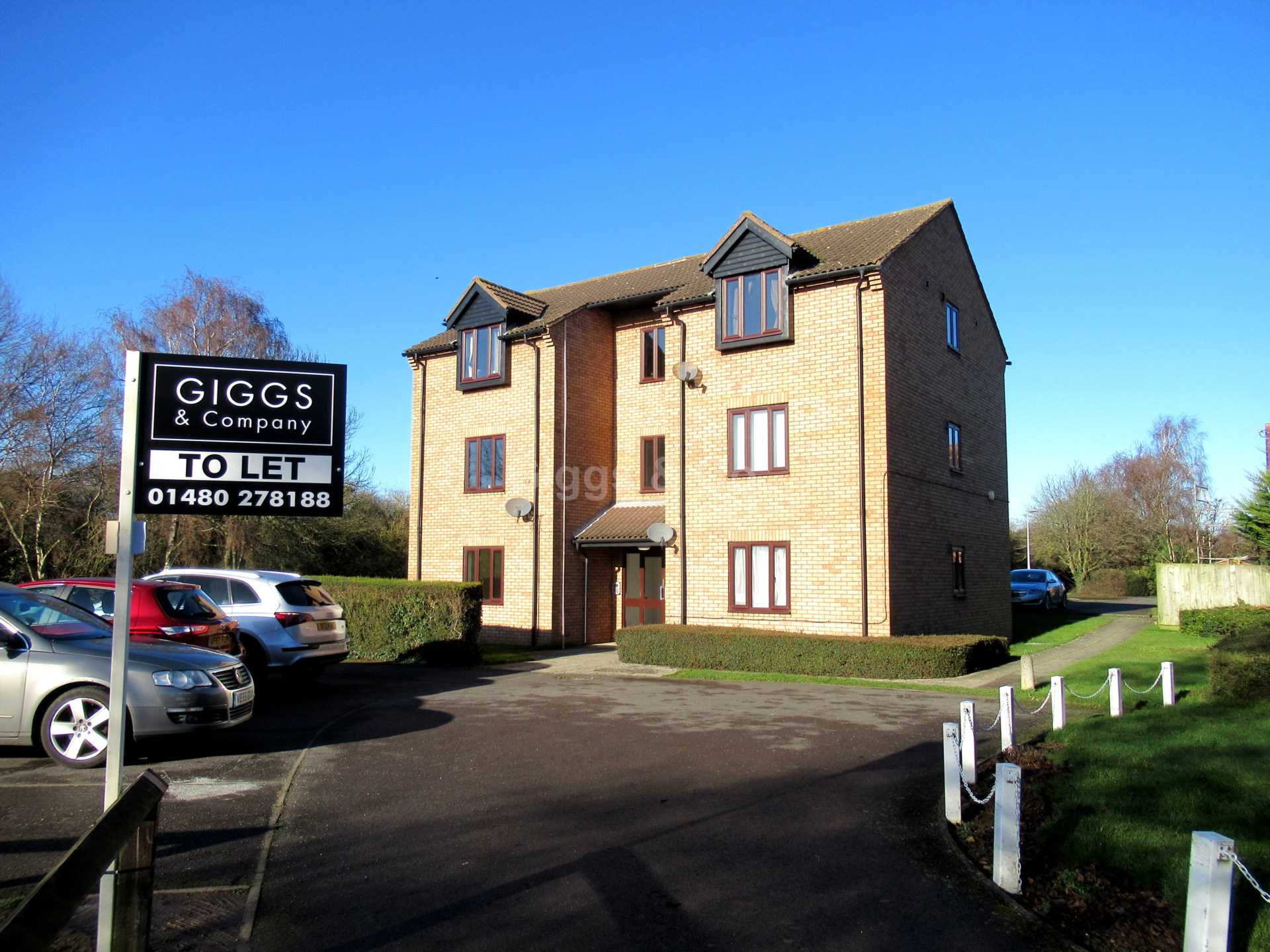 1 bed flat to rent in Burwell Road, Eaton Ford 0