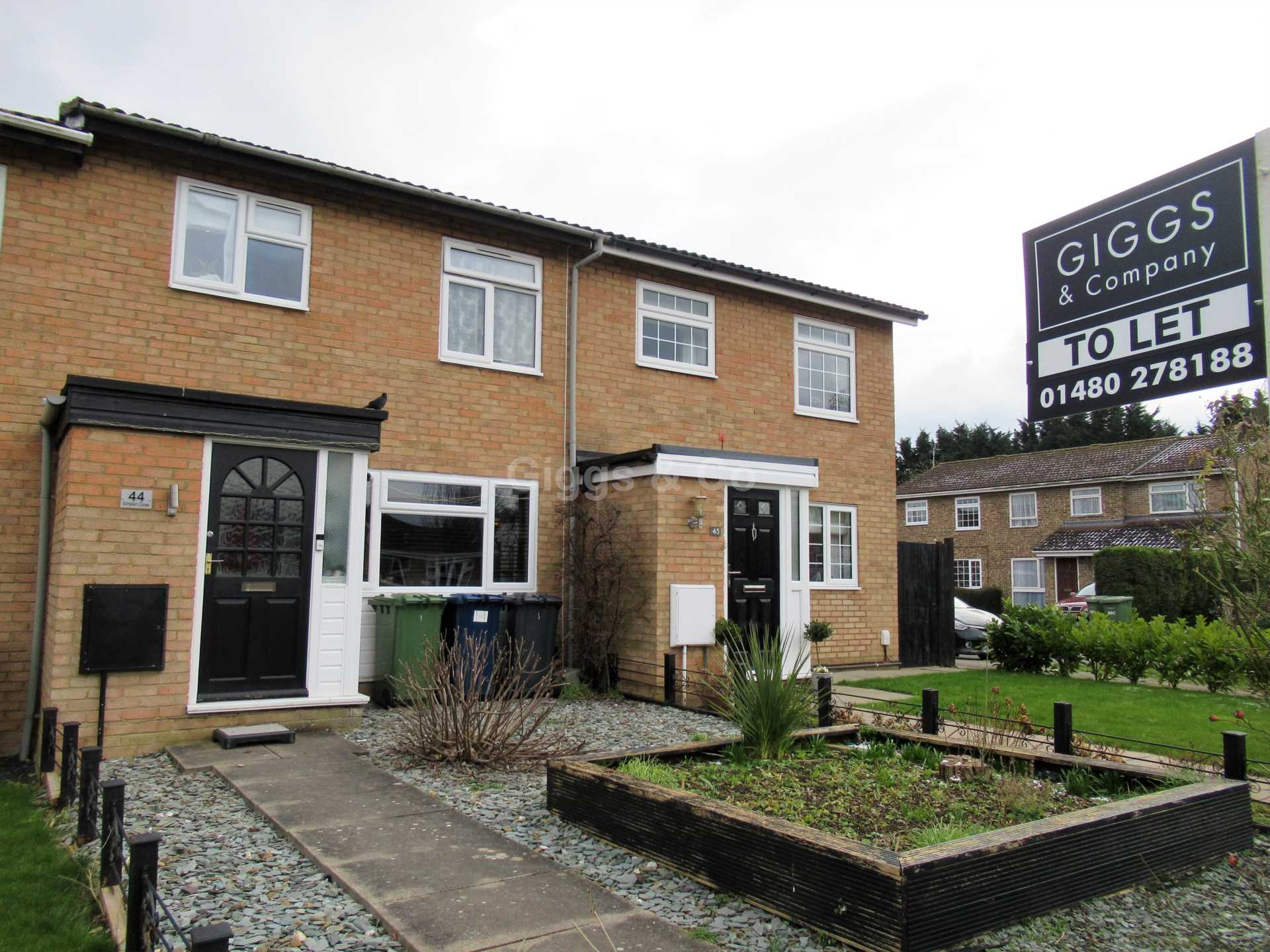 3 bed house to rent in Simpkin Close, Eaton Socon, PE19