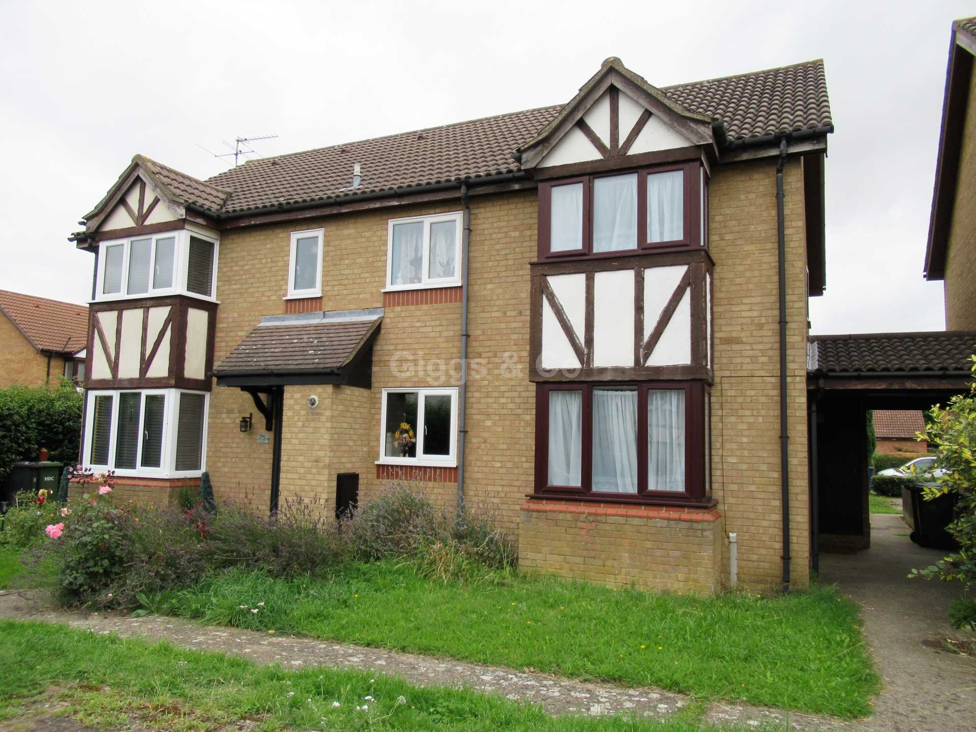 2 bed house to rent in Lindisfarne Close, Eynesbury, St Neots, PE19