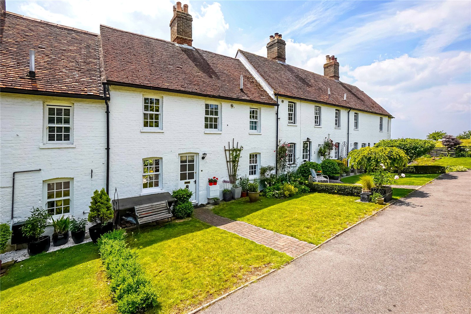 3 bed house for sale in Greenfield Cottages, The Street  - Property Image 1
