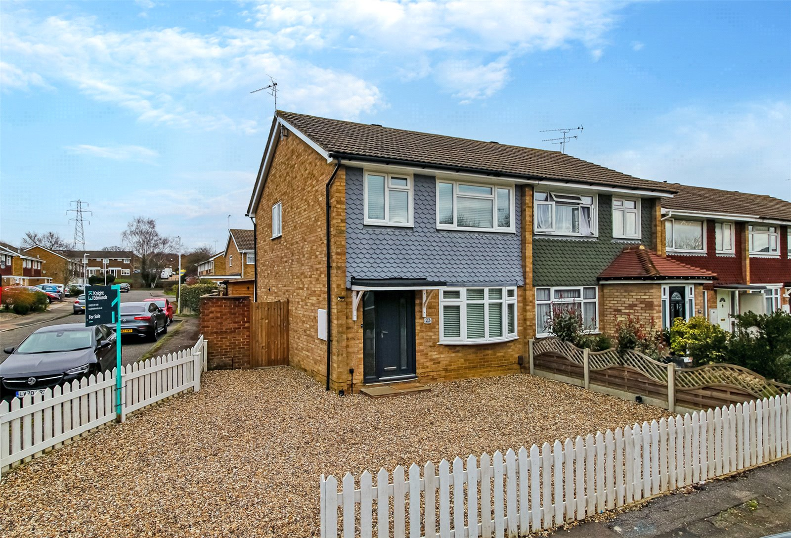 3 bed house for sale in Cudham Close, Vinters Park  - Property Image 1